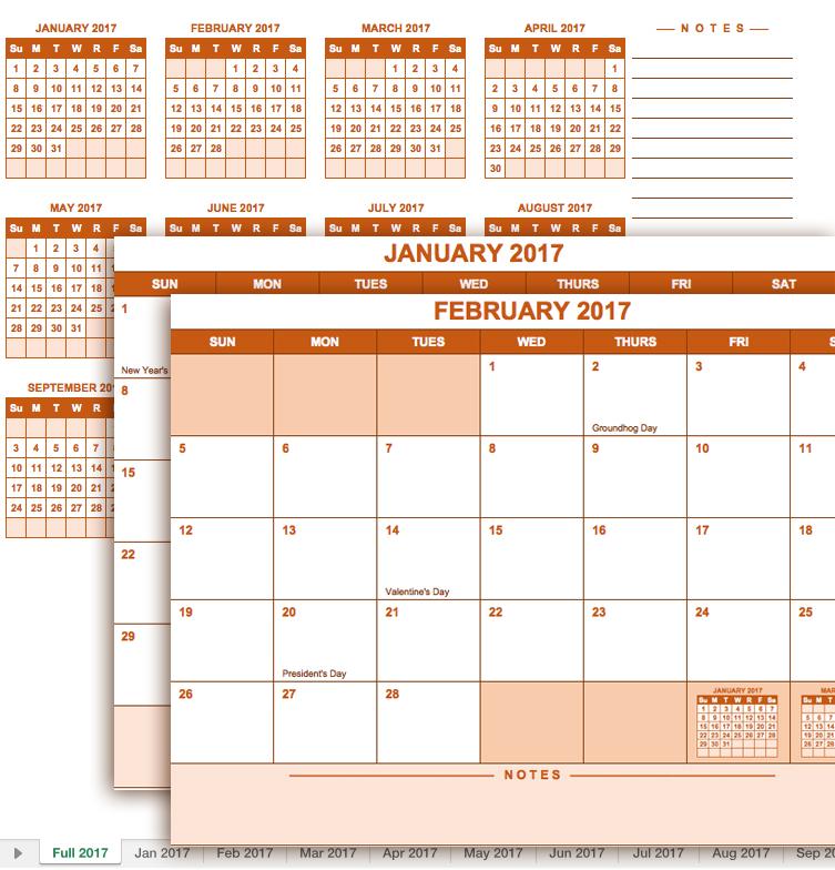 microsoft office naptár készítés Szerezd be: Excel naptár 2017   Azonnal használható Excel tippek microsoft office naptár készítés